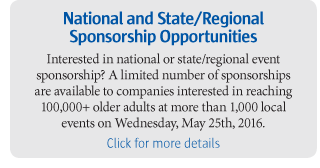 National and State/Regional Sponsorship Opportunities