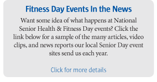 Fitness Day Events In The News