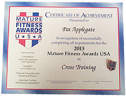 Mature fitness awards all not